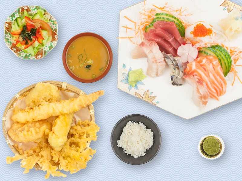 Menu_Lunch_03_Sashimi_Tempura
